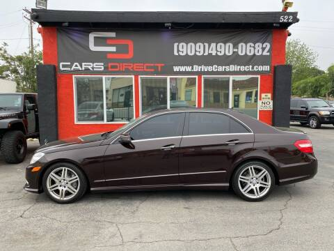 2010 Mercedes-Benz E-Class for sale at Cars Direct in Ontario CA