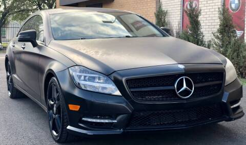 2014 Mercedes-Benz CLS for sale at Auto Imports in Houston TX
