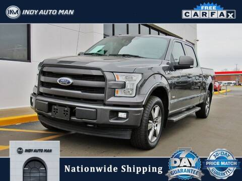 2017 Ford F-150 for sale at INDY AUTO MAN in Indianapolis IN