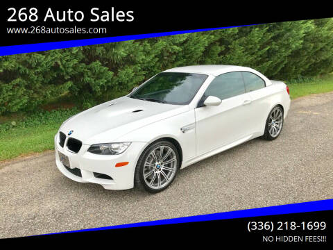 2013 BMW M3 for sale at 268 Auto Sales in Dobson NC