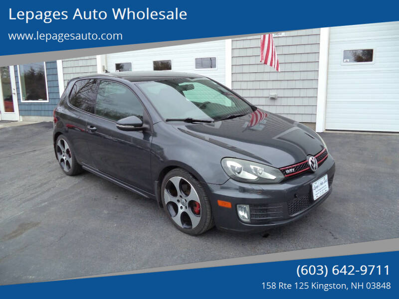 2010 Volkswagen GTI for sale at Lepages Auto Wholesale in Kingston NH
