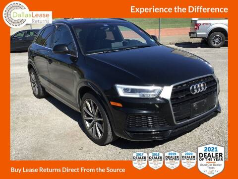 2018 Audi Q3 for sale at Dallas Auto Finance in Dallas TX