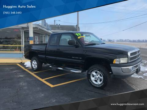 1999 Dodge Ram Pickup 1500 for sale at Huggins Auto Sales in Hartford City IN
