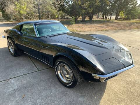 1968 Chevrolet Corvette for sale at TROPHY MOTORS in New Braunfels TX