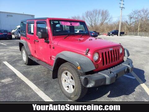 2012 Jeep Wrangler Unlimited for sale at Your Auto Source in York PA