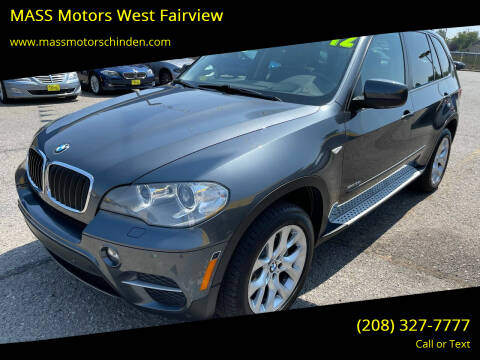 2012 BMW X5 for sale at M.A.S.S. Motors - MASS MOTORS in Boise ID