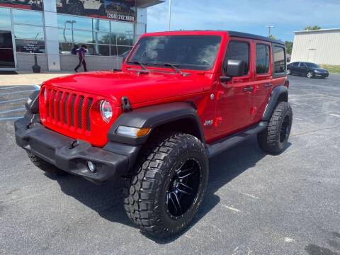 2018 Jeep Wrangler Unlimited for sale at Davco Auto in Fort Wayne IN