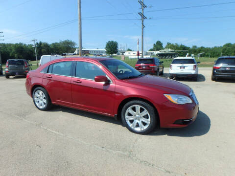 2012 Chrysler 200 for sale at BLACKWELL MOTORS INC in Farmington MO
