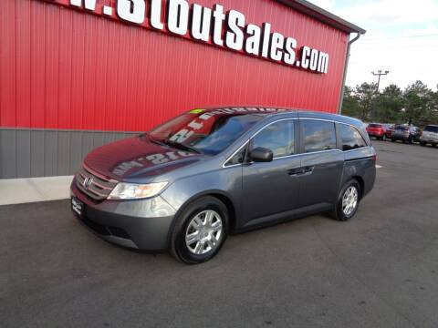 2011 Honda Odyssey for sale at Stout Sales in Fairborn OH