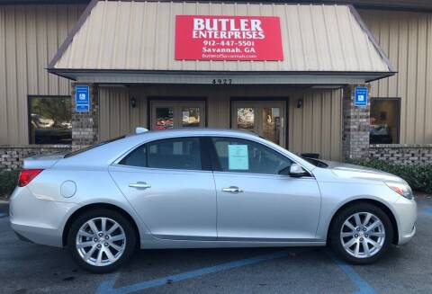 2013 Chevrolet Malibu for sale at Butler Enterprises in Savannah GA