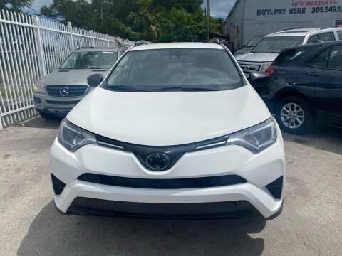 2017 Toyota RAV4 for sale at America Auto Wholesale Inc in Miami FL