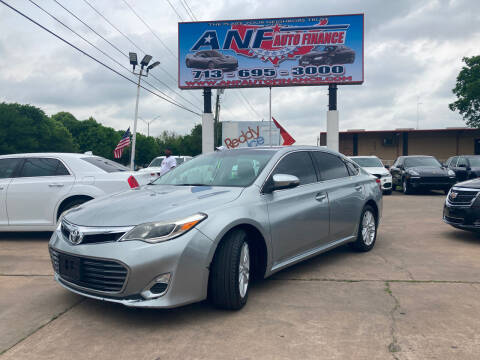 2015 Toyota Avalon for sale at ANF AUTO FINANCE in Houston TX