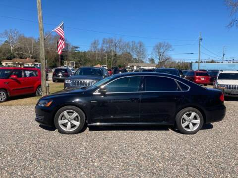 2013 Volkswagen Passat for sale at Joye & Company INC, in Augusta GA