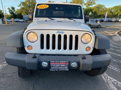2014 Jeep Wrangler Unlimited for sale at Nasa Auto Group LLC in Passaic NJ