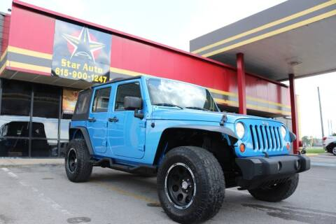 2010 Jeep Wrangler Unlimited for sale at Star Auto Inc. in Murfreesboro TN