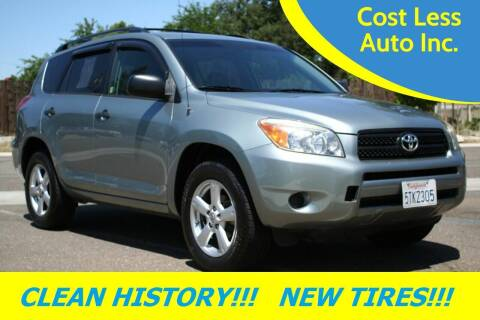 2006 Toyota RAV4 for sale at Cost Less Auto Inc. in Rocklin CA