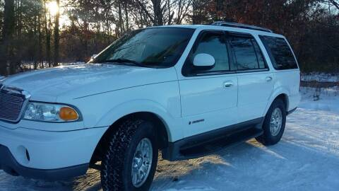 2001 Lincoln Navigator for sale at Expressway Auto Auction in Howard City MI