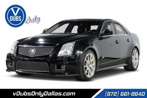 2013 Cadillac CTS-V for sale at VDUBS ONLY in Dallas TX