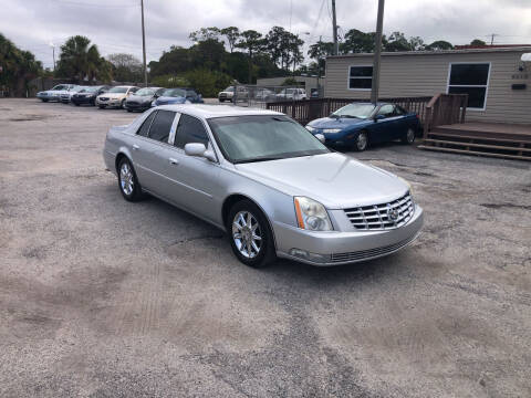 2010 Cadillac DTS for sale at Friendly Finance Auto Sales in Port Richey FL