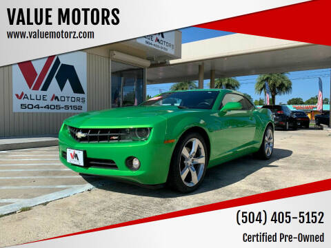 2011 Chevrolet Camaro for sale at VALUE MOTORS in Kenner LA