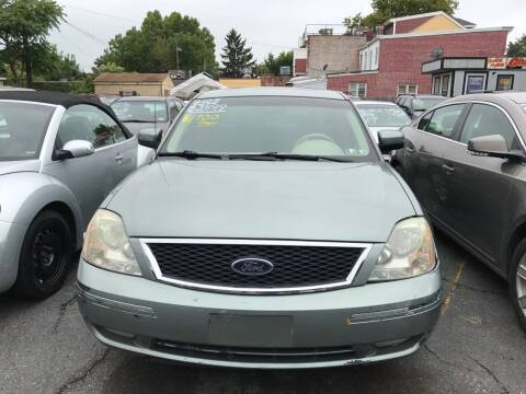 2005 Ford Five Hundred for sale at Chambers Auto Sales LLC in Trenton NJ