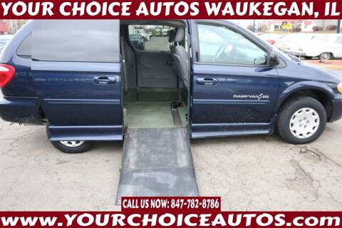 2004 Chrysler Town and Country for sale at Your Choice Autos - Waukegan in Waukegan IL