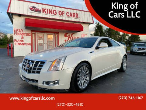 2013 Cadillac CTS for sale at King of Cars LLC in Bowling Green KY