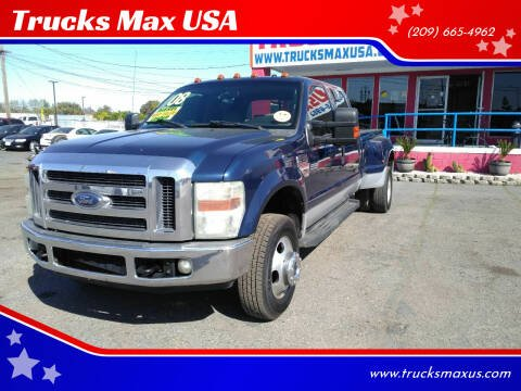 2008 Ford F-350 Super Duty for sale at Trucks Max USA in Manteca CA