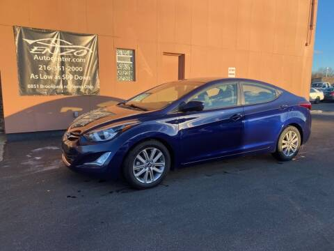 2014 Hyundai Elantra for sale at ENZO AUTO in Parma OH