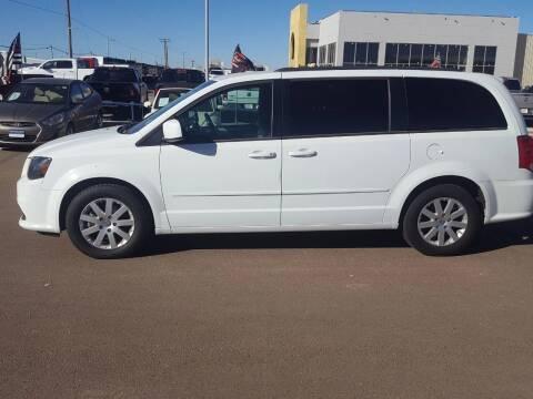 2017 Dodge Grand Caravan for sale at South Plains Autoplex by RANDY BUCHANAN in Lubbock TX