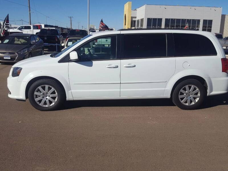 2017 Dodge Grand Caravan for sale at South Plains Autoplex by RANDY BUCHANAN in Lubbock TX