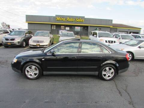 2002 Audi A4 for sale at MIRA AUTO SALES in Cincinnati OH