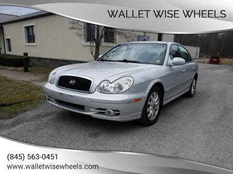 2005 Hyundai Sonata for sale at Wallet Wise Wheels in Montgomery NY