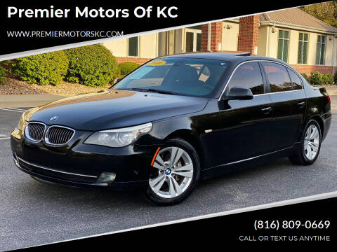 2010 BMW 5 Series for sale at Premier Motors of KC in Kansas City MO