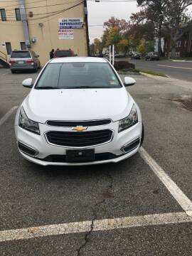 2015 Chevrolet Cruze for sale at Jardims' Automotive in Roselle NJ