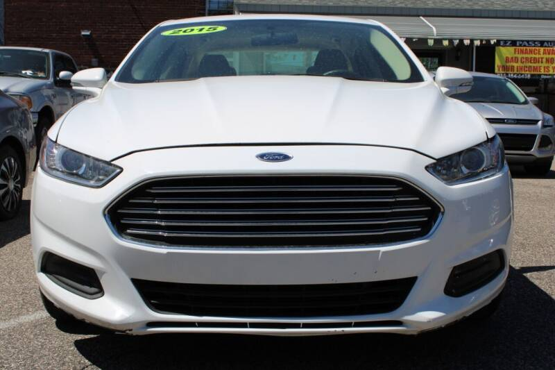 2016 Ford Fusion for sale at EZ PASS AUTO SALES LLC in Philadelphia PA