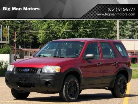 2006 Ford Escape for sale at Big Man Motors in Farmington MN