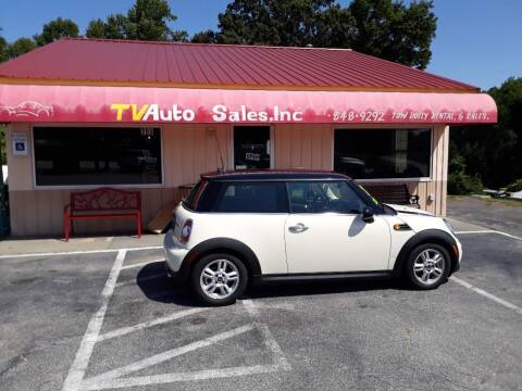 2013 MINI Hardtop for sale at TV Auto Sales in Greer SC