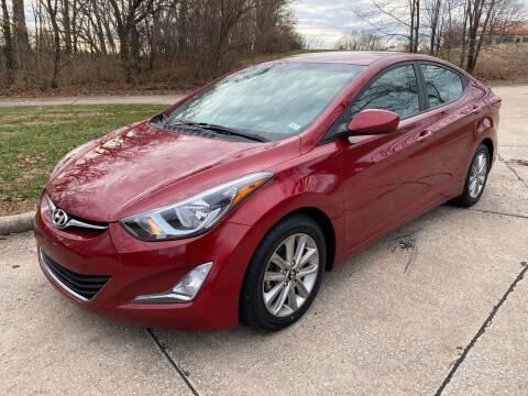 2014 Hyundai Elantra for sale at Sansone Cars in Lake Saint Louis MO