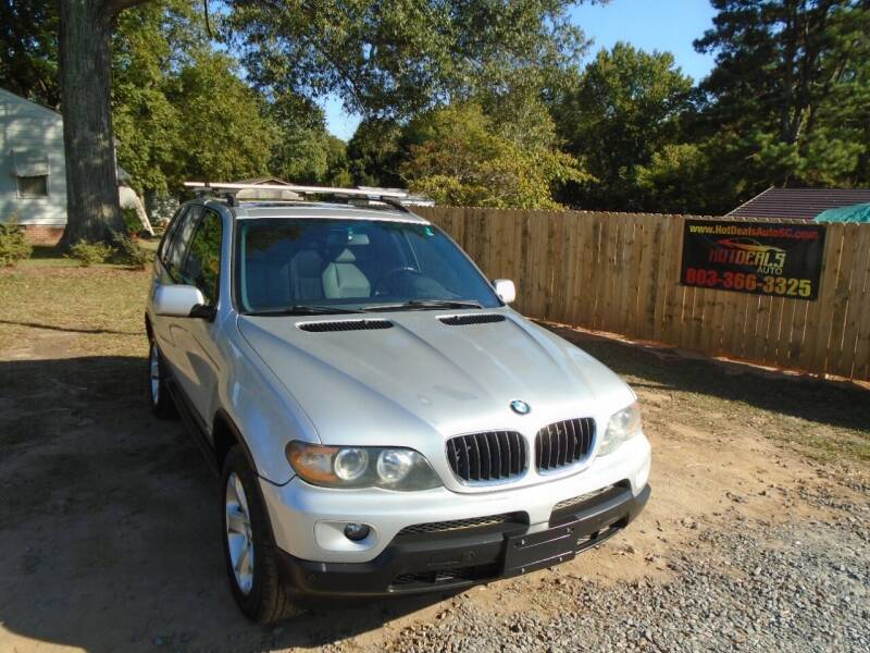 2006 BMW X5 for sale at Hot Deals Auto LLC in Rock Hill SC