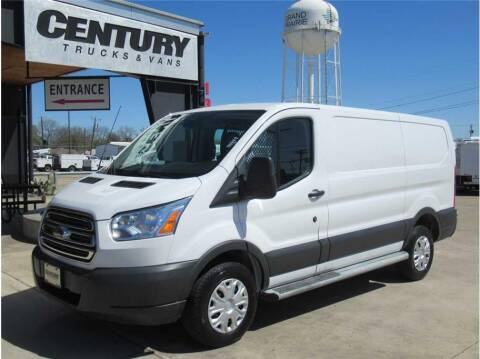 2018 Ford Transit Cargo for sale at CENTURY TRUCKS & VANS in Grand Prairie TX