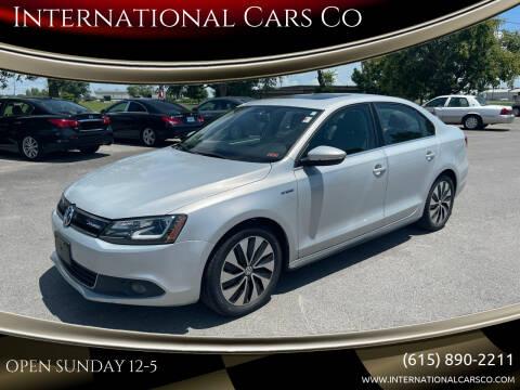 2013 Volkswagen Jetta for sale at International Cars Co in Murfreesboro TN