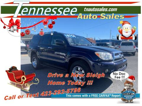2006 Toyota 4Runner for sale at Tennessee Auto Sales in Elizabethton TN