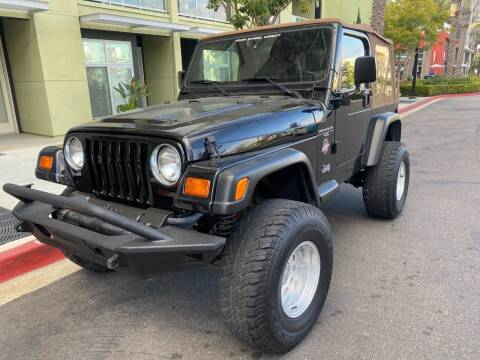 1998 Jeep Wrangler for sale at Korski Auto Group in San Diego CA