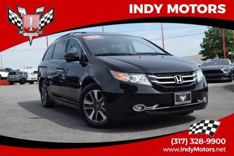 2015 Honda Odyssey for sale at Indy Motors Inc in Indianapolis IN
