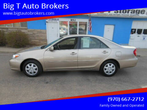 2002 Toyota Camry for sale at Big T Auto Brokers in Loveland CO
