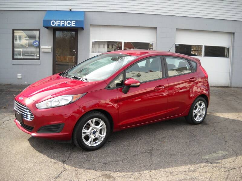 2015 Ford Fiesta for sale at Best Wheels Imports in Johnston RI