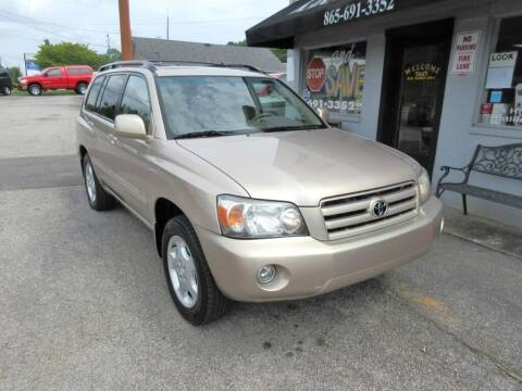 2004 Toyota Highlander for sale at karns motor company in Knoxville TN