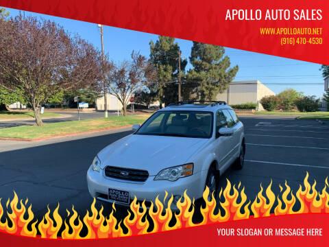 2006 Subaru Outback for sale at APOLLO AUTO SALES in Sacramento CA