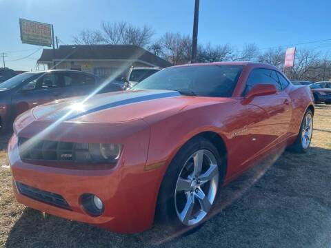 2011 Chevrolet Camaro for sale at Cash Car Outlet in Mckinney TX
